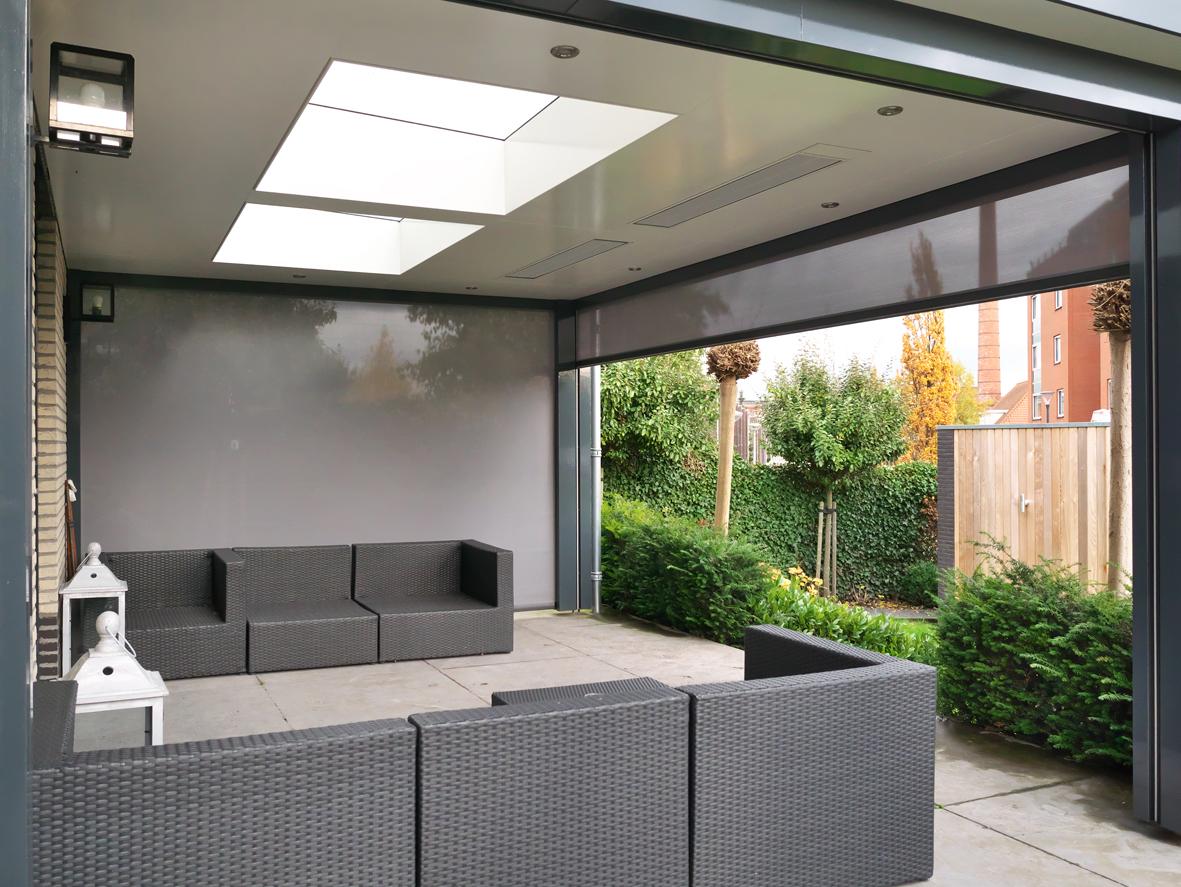 Garage Met Veranda : Nieuwbouw garage en veranda van der schaft